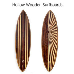 Hollow Wooden Surfboards
