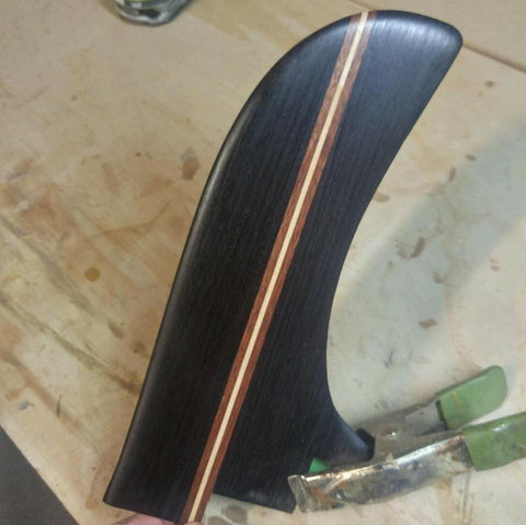 Ventana fin using Brown Felicetta woods