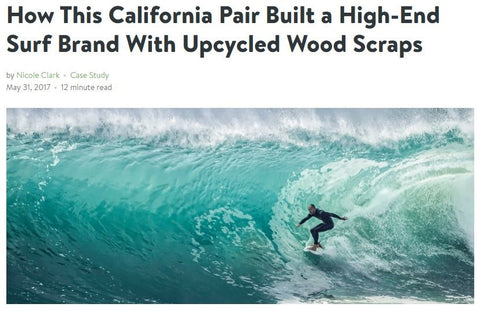 How This California Pair Built a High-End Surf Brand with Upcycled Wood Scraps