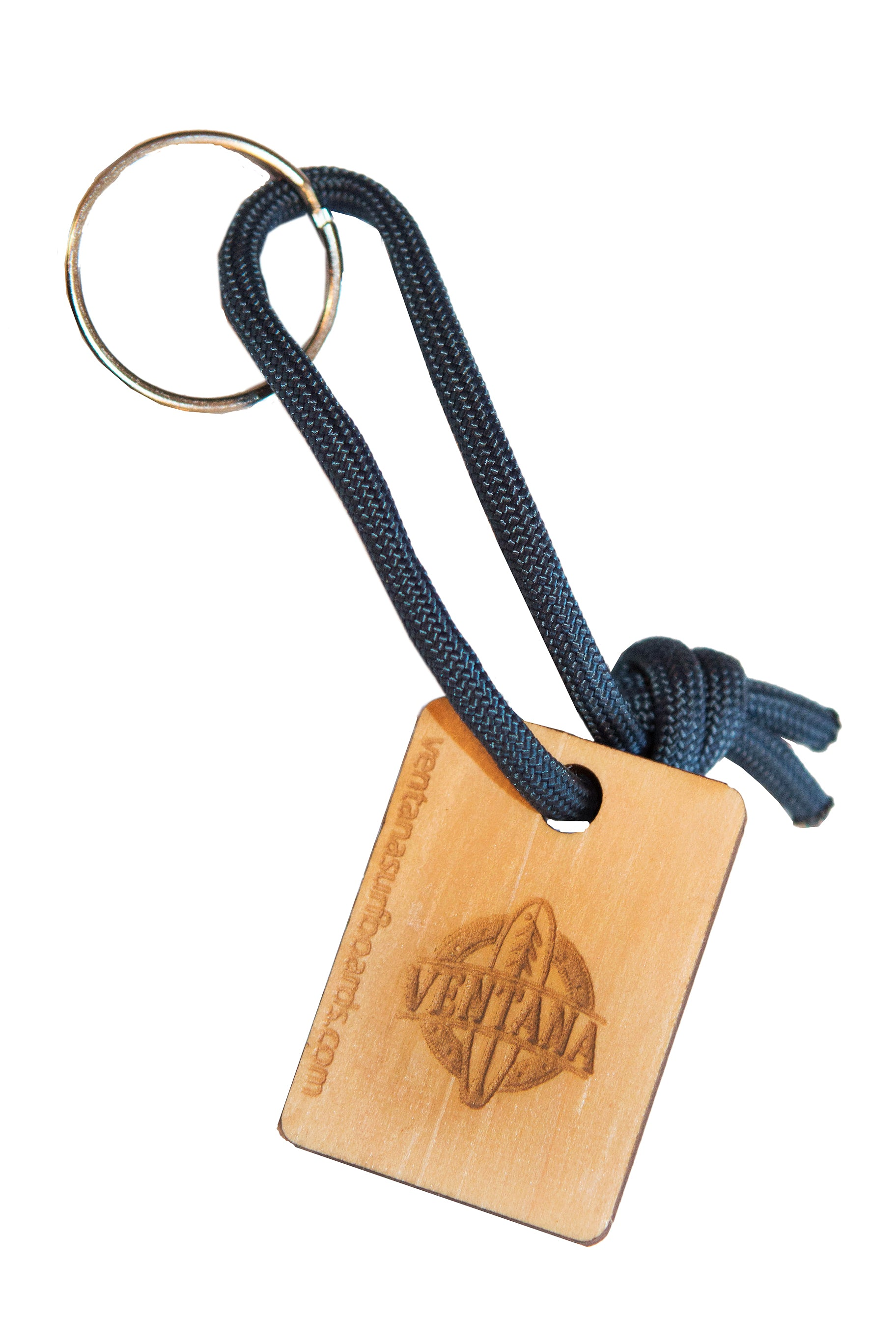 Ventana Wooden Leash Cord Key Ring