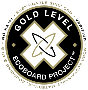 Sustainable Surf Ecoboard Gold