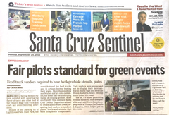 Santa Cruz Sentinel article about Ocean's Edge