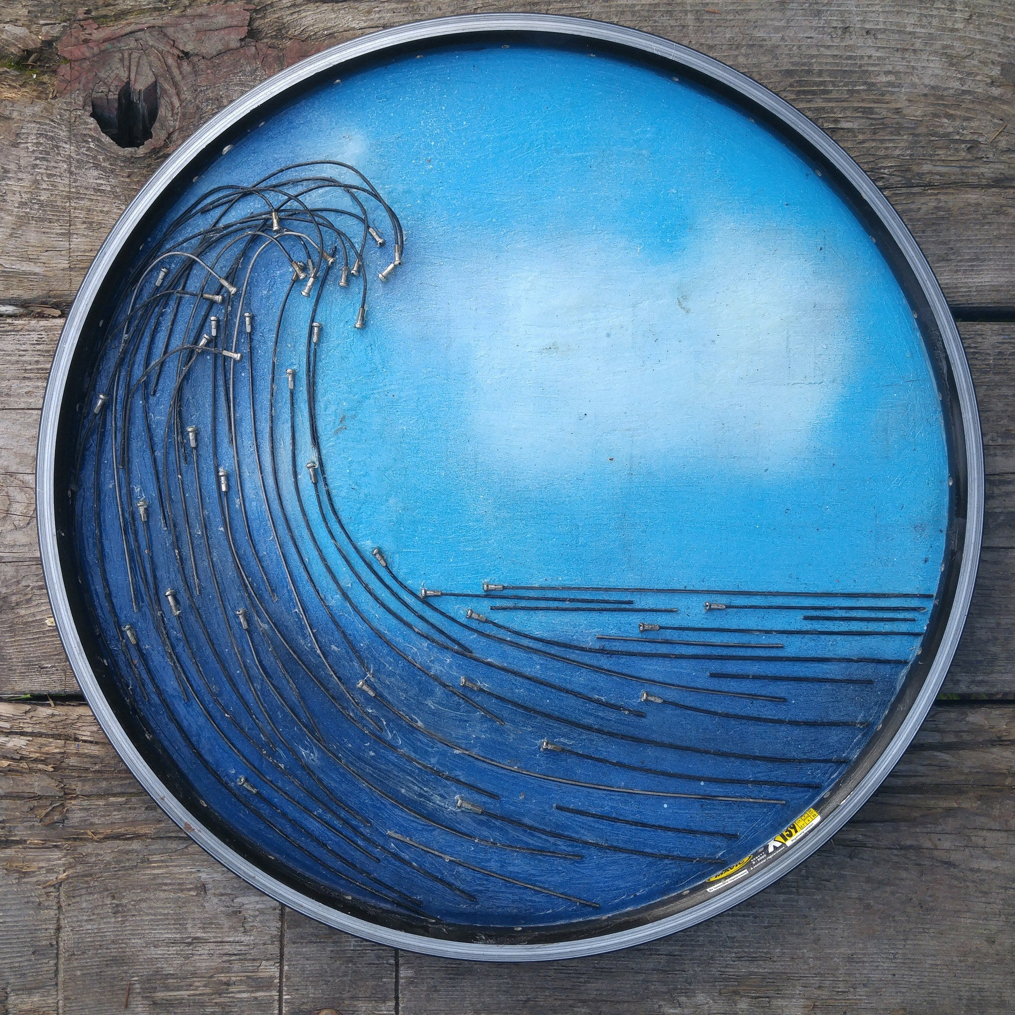 Art - Wave Of Spokes: Steamer Lane
