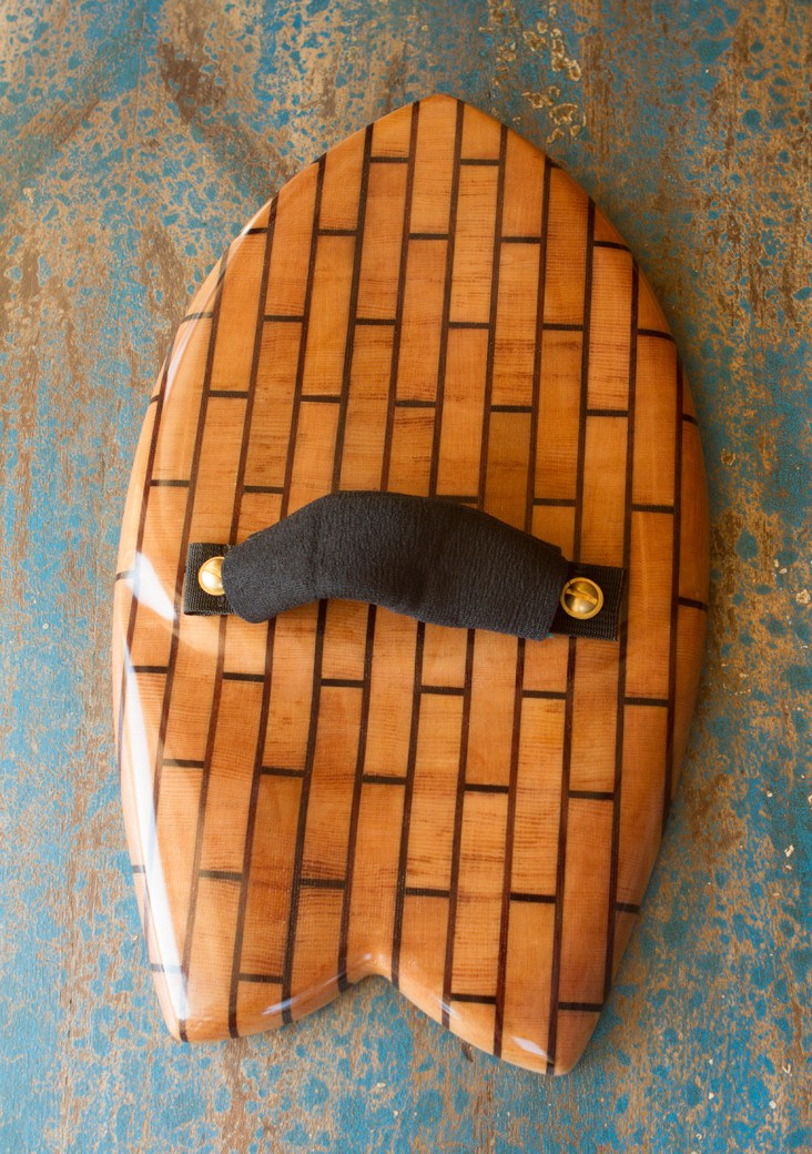 Handplane - Butcher Block Bricks Barrel Buster Fish Handplane