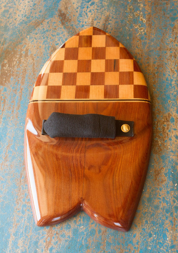 Handplane - Checkerboard Fish Handplane