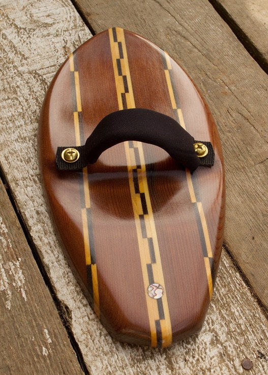 Handplane - Red Rose Teardrop Handplane