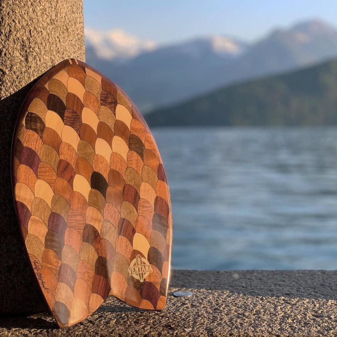 Redwood Rodrigo Fish Handplane