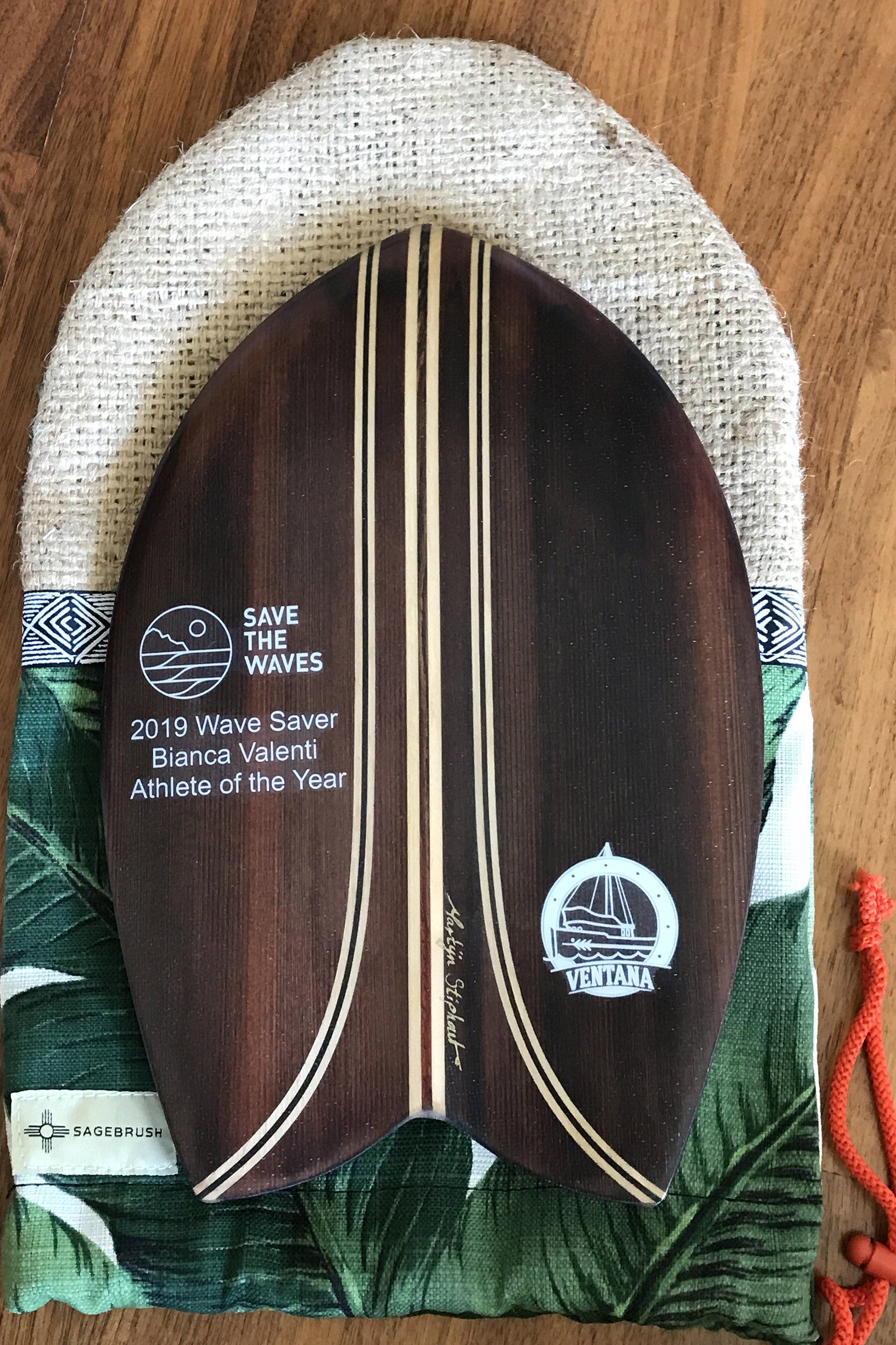 "Handplane - Save The Waves ""Wave Saver"" Award Handplanes"
