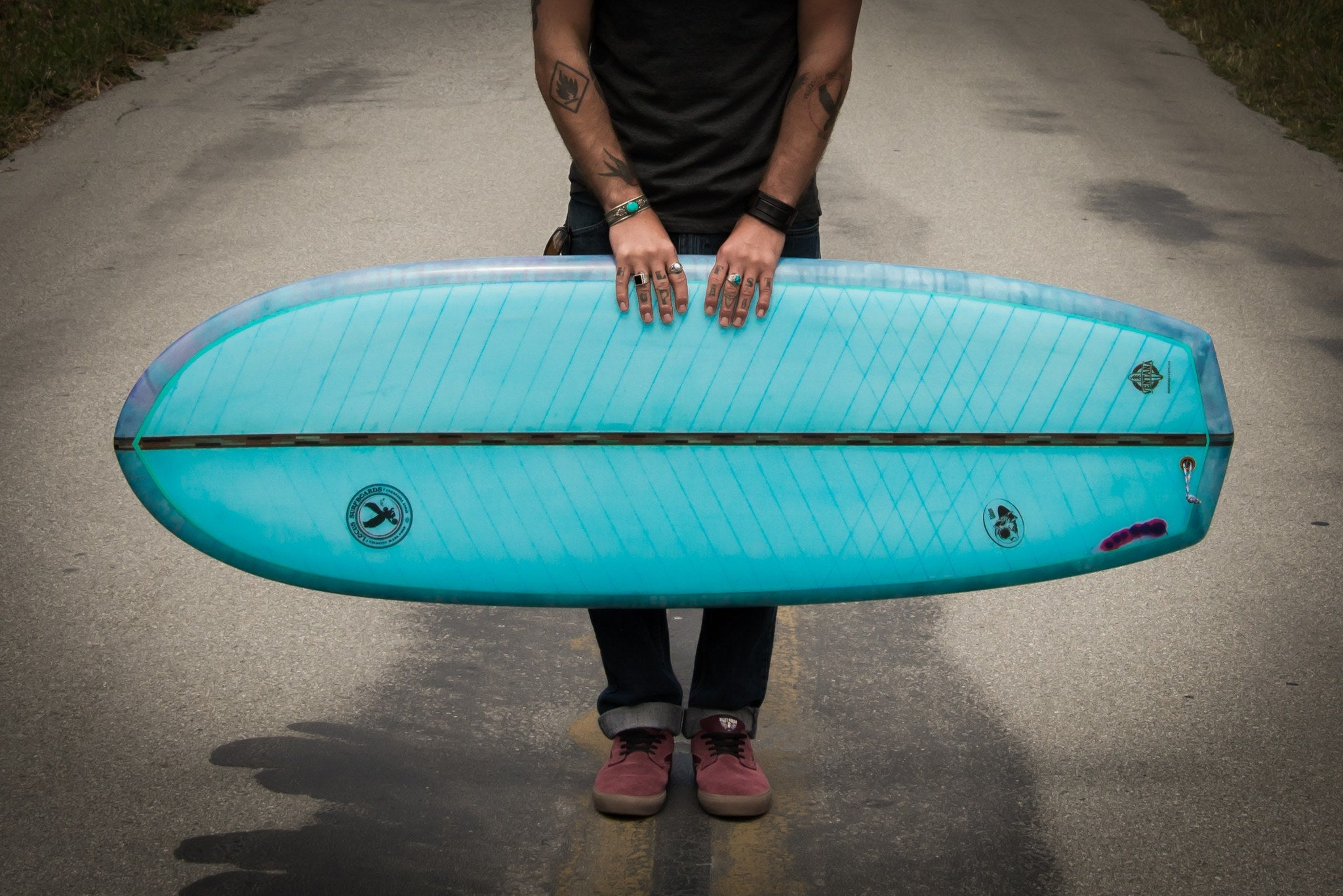 Locus Eco Surfboards - Gibbon 5'6""