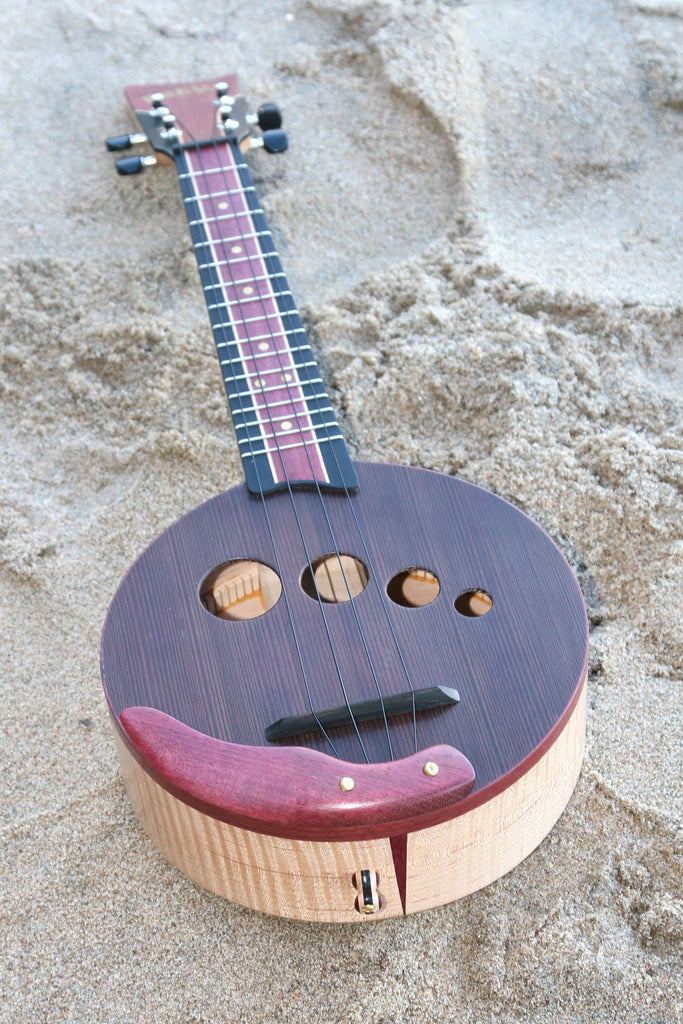 Musical Instrument - Ventana Freya Purple Maple Madness Banjolele