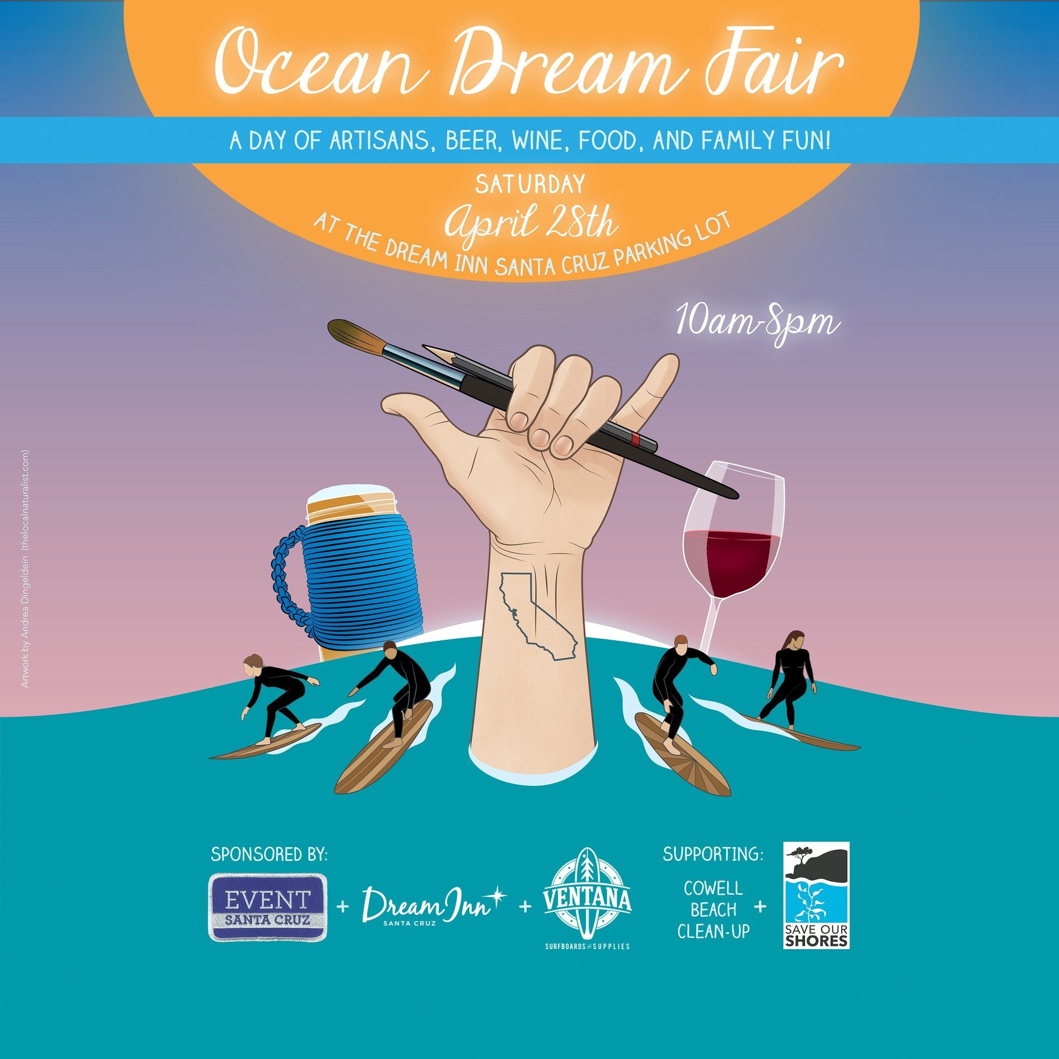 Ocean Dream Fair Vendor Fee