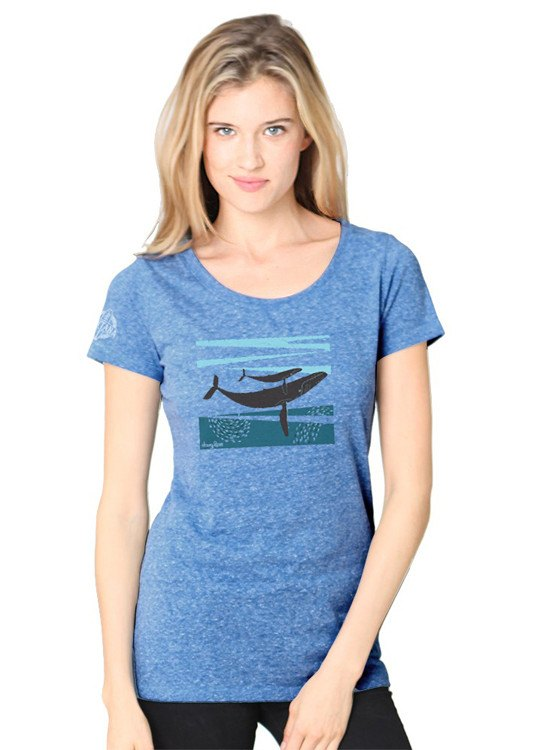 Shirts - Ventana By Doug Ross Humpbacks Scoop Neck T-Shirt