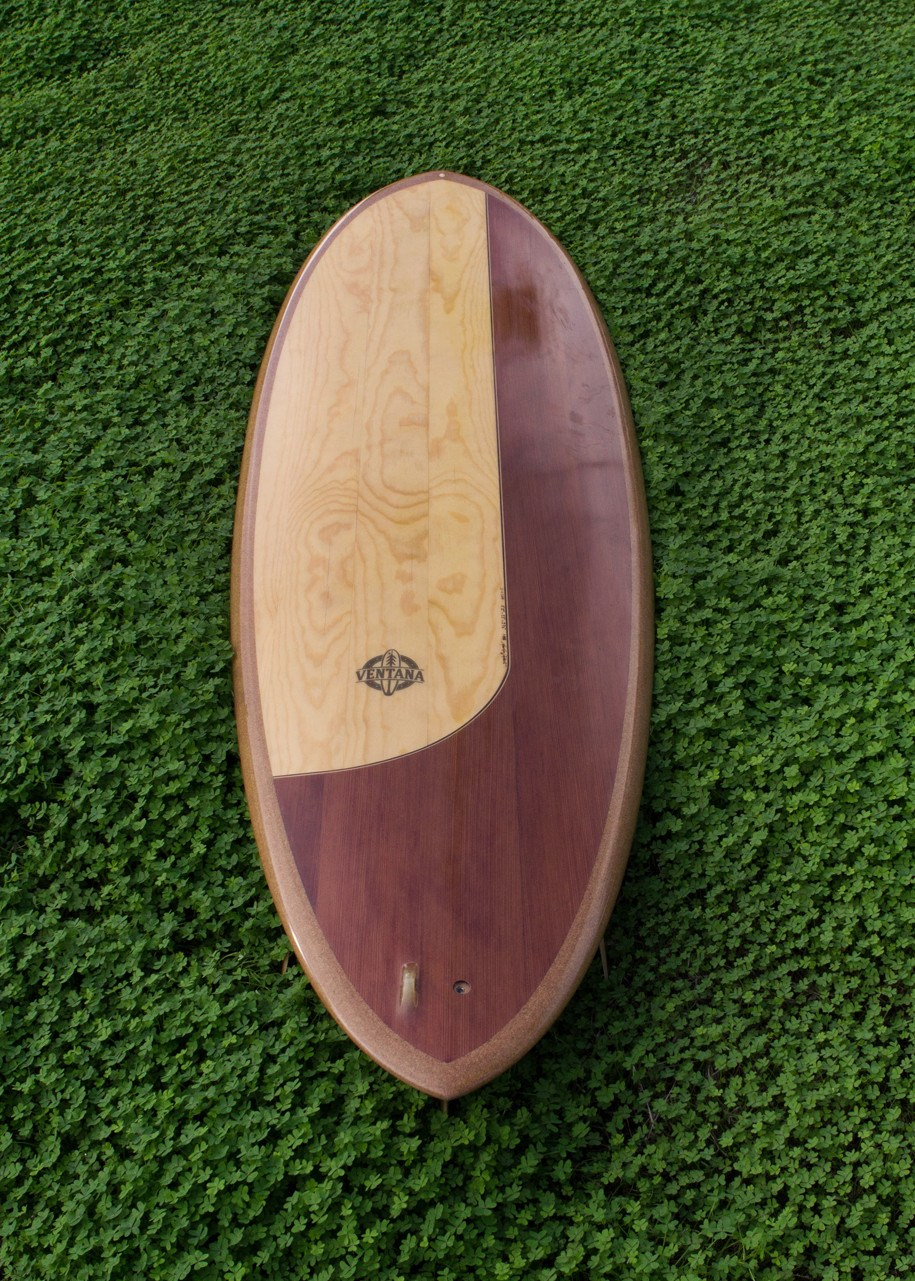 "Surfboard - 5'11"" Piney Redwood Disc"