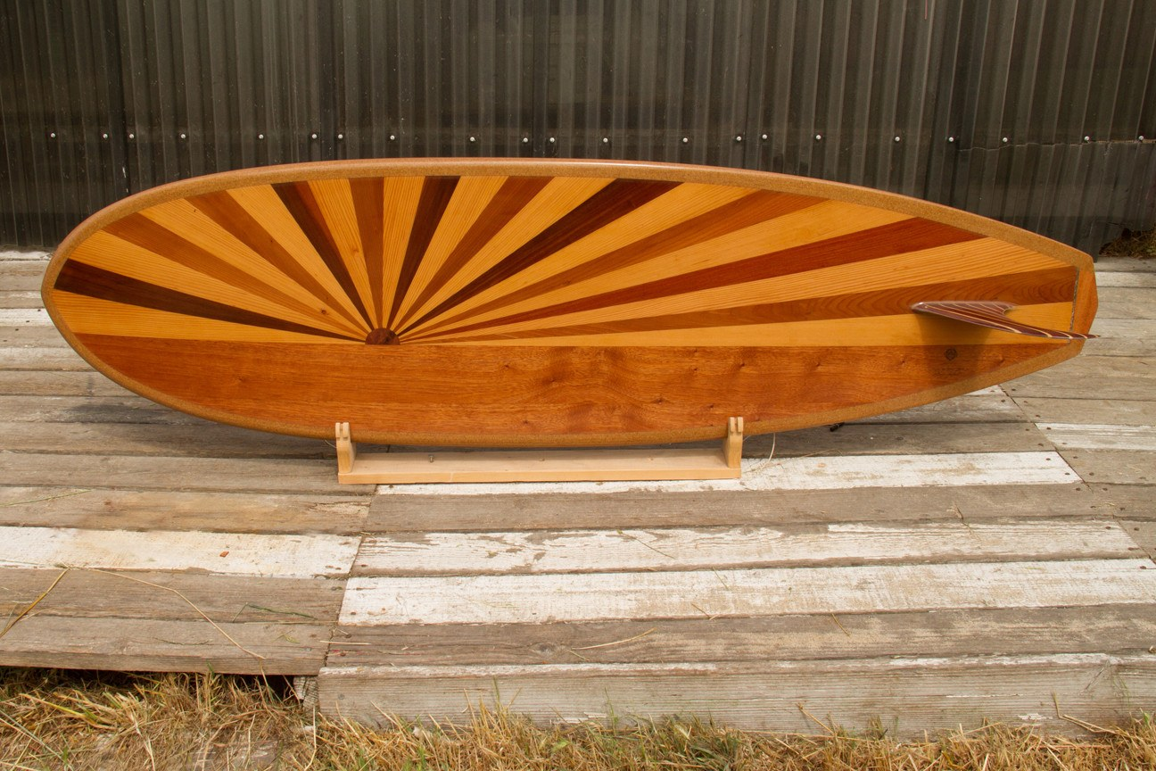 "Surfboard - 6'6"" Sunburst Down Rail Custom"