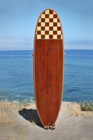 "Surfboard - 7' Flying Pig ""Checker Board"""