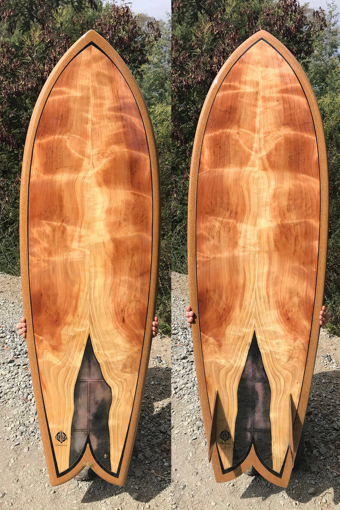 Surfboard - Galaxy Fish 5'10""