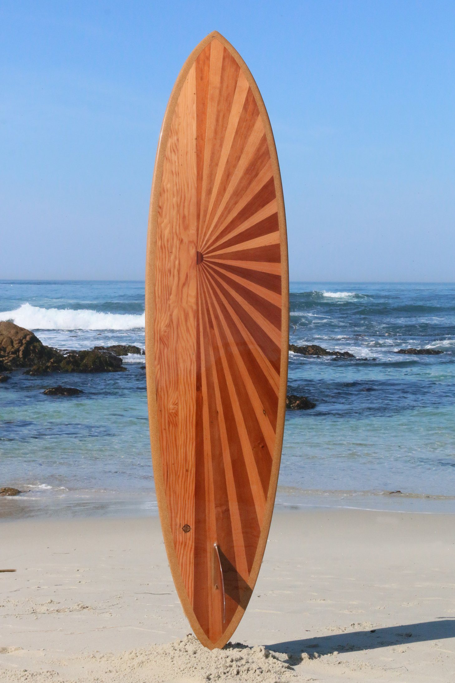 Surfboard - Mission Bell Boardwalk Bolt 7'2""
