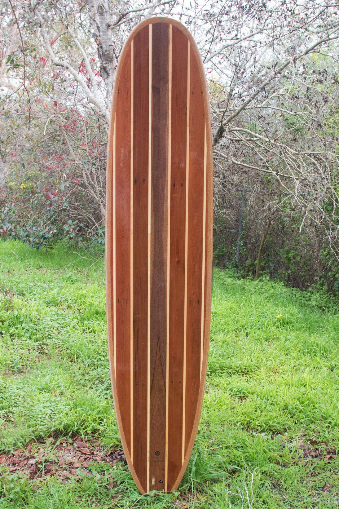 Surfboard - Western Flyer Stripes Longboard 8'2""
