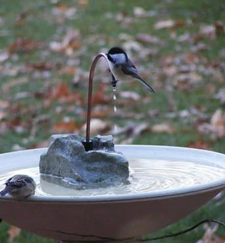 Bird Bath Fountains, Misters & Wigglers