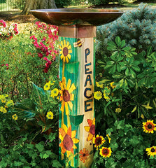Staked & Pedestal Bird Baths