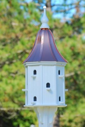 Copper Roof Dovecote Birdhouse