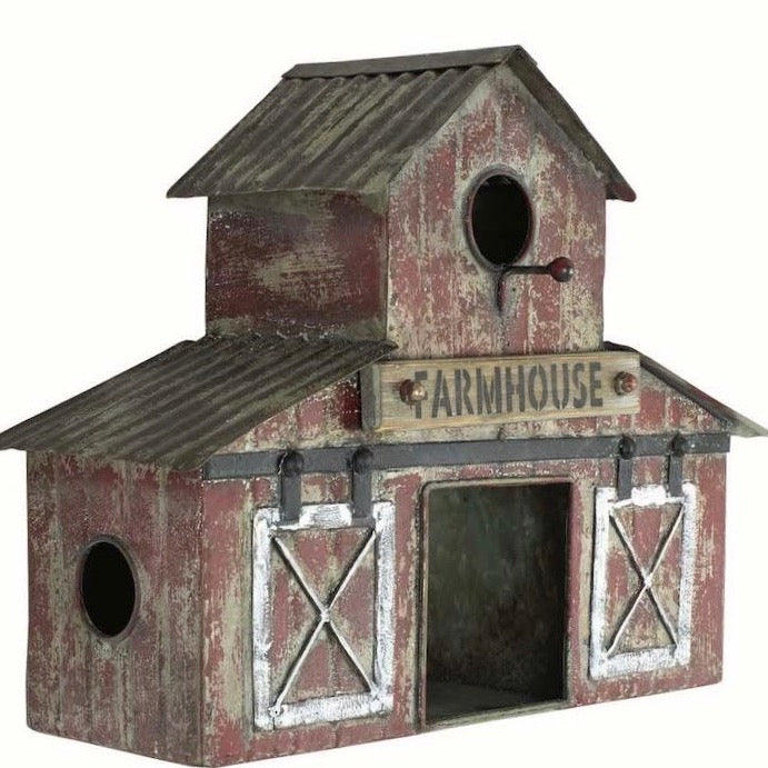Farmhouse Birdhouses