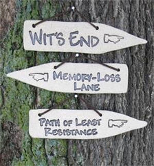 Witty Stoneware Plaques