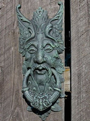 GreenMan Door Knocker and Gate Keeper