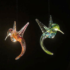 Blown Glass Hummingbird SunCatcher
