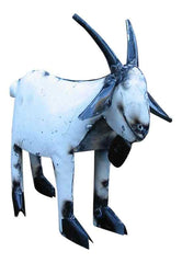 recyled metal billy goat