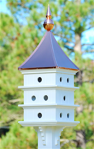Dovecote Copper Roof Birdhouse