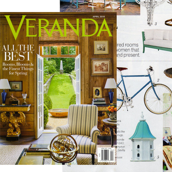 Bird house featured in Veranda Magazine