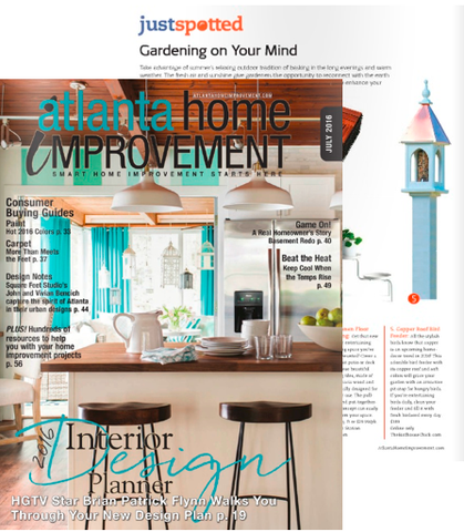 The Birdhouse Chick Feaatured in Atlanta Home Magazine