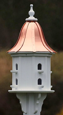 Copper Roof-Vinyl Birdhouse