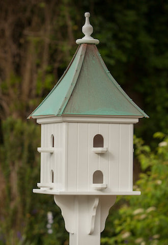 Copper Birdhouse Vinyl/PVC