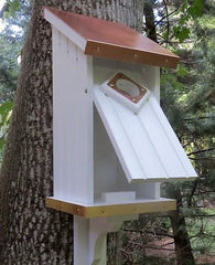 Copper/Vinyl Bluebird House for Monitoring