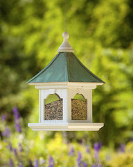 Large Capacity Hanging Vinyl Bird Feeder