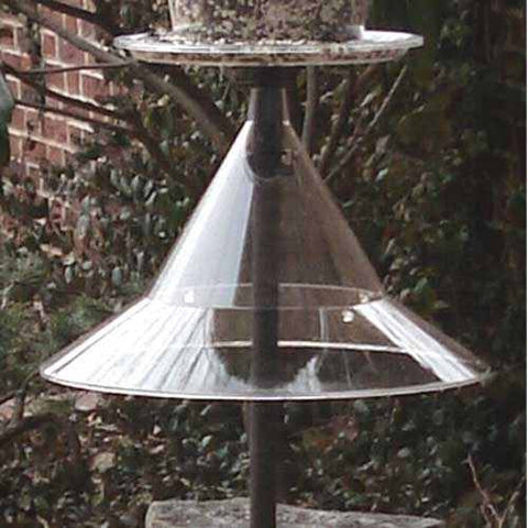Squirrel Baffle for Bird Feeder Pole