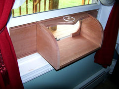Bread Box Window Bird Feeder