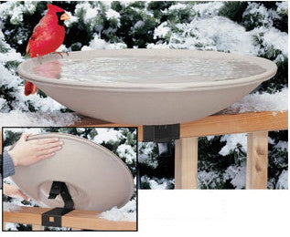Large Heated Bird Bath with Easy Tilt & Clean