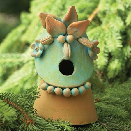 Garden Friends Birdhouse