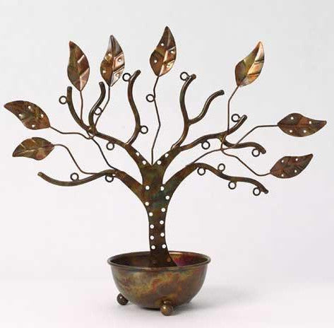 Tree of Life Large Jewelry Tree with Bowl