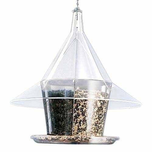 Sky Cafe Squirrel Proof Bird Feeder w/Dividers
