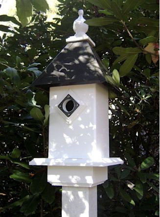 Carolina Bluebird House in Vinyl/PVC-Bronze Finish