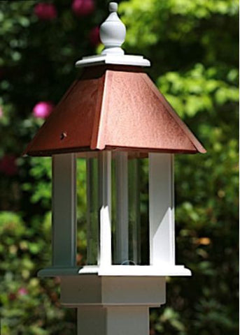 Pavilion Bird Feeder in Vinyl/PVC