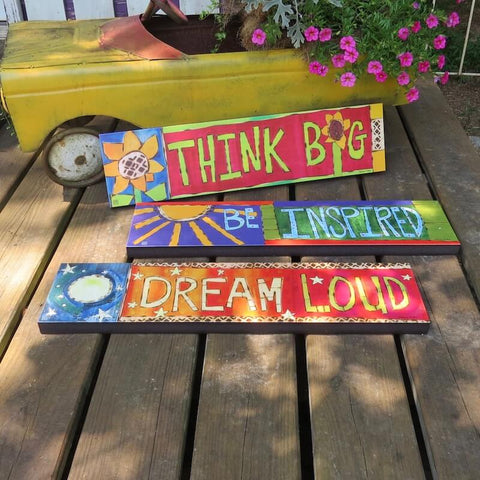 Vinyl Art Planks-4 Designs
