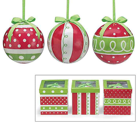 Bold Ornament Set