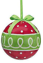 Large Boxed Christmas Ornaments