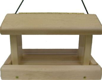 Cedar Hopper Bird Feeder Kit