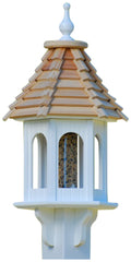 Gazebo Bird Feeder-Vinyl/PVC 28x10